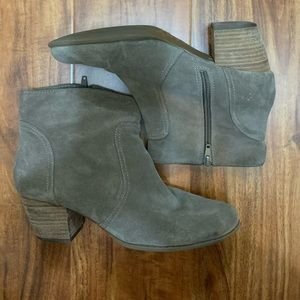 Sole Society Taupe Bootie 7